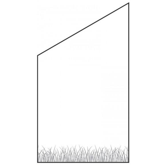 T J Vetro Glas Sichtschutz Mit Lasergravur Typ Schrag 120 180