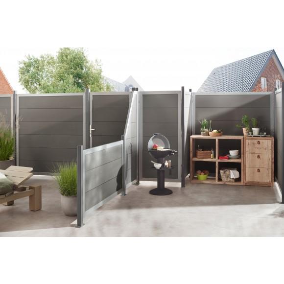 Traumgarten Design Wpc Alu 180x180 Cm Mein Zaunshop De