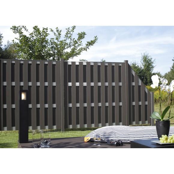 Traumgarten Jumbo Wpc Alu Design 179 X 179 Cm Mein Zaunshop De
