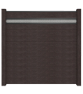 GroJa Solid Stecksystem Bausatz inkl. Lochblech-Designeinsatz 15cm anthrazit