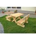 T&J RUSTIKAL-Sitzgarnitur Tisch