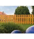 Massivzauntor Zaun Bremen Gartentor 2 Flügel Douglasie 2 Höhen 7 Farben