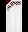 GroJa BasicLine Typ E Rank 90 links Weiß