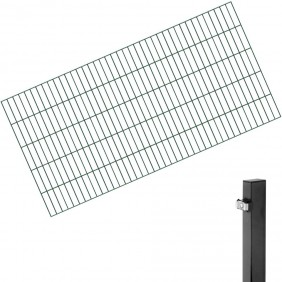 GAH-Doppelstabmatten Komplettset 2 - 50 Meter
