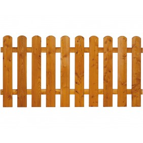 Zaun Mailand Zaunfeld Lärche 7 Farben