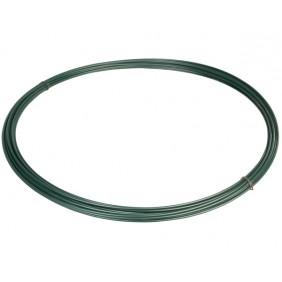 Spanndraht, grün, Ø 3,1 mm, 55 m (Zaun)
