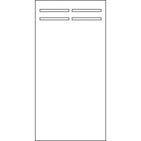 OSMO HPL Kompakt 90x180 cm mit Langschlitz
