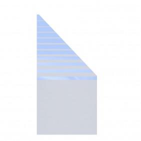 TraumGarten Glaselement Design BETA Anschluss rechts