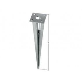 GAH Zaunsystem Fix-Clip pro Einschlagbodenhülse