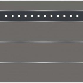 elevato Zaunserie Baveno Typ 3.8 Anthrazit/Alu Anthrazit