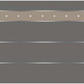 elevato Zaunserie Baveno Typ 3.16 Anthrazit/Alu Beige
