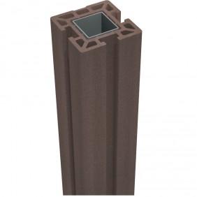 GroJa Solid Stecksystem Pfosten zum Aufdübeln 10 x 10 x 190 cm