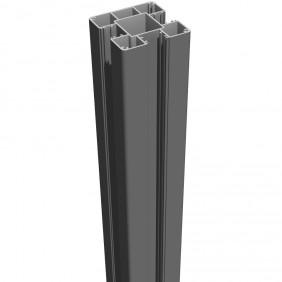 GroJa Lumino Stecksystem Pfosten zum Aufdübeln 9 x 9 x 100/190 cm