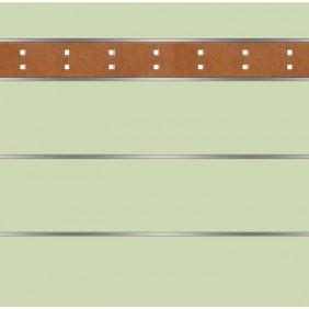 elevato Zaunserie Baveno Typ 3.3 Mint/Corten-Stahl