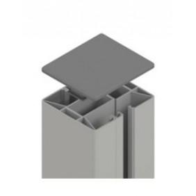 TraumGarten SYSTEM Klemmpfosten Silber