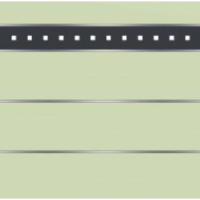 elevato Zaunserie Baveno Typ 3.7 Mint/Alu Anthrazit