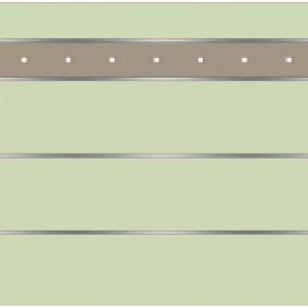 elevato Zaunserie Baveno Typ 3.15 Mint/Alu Beige