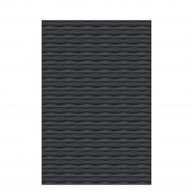 TraumGarten Flow 3D-Design Rechteck 120x180 cm Anthrazit