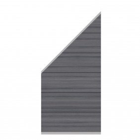 TraumGarten System WPC XL Platinum Zaun-Anschluss-Set