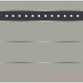 elevato Zaunserie Baveno Typ 3.6 Steingrau/Alu Anthrazit