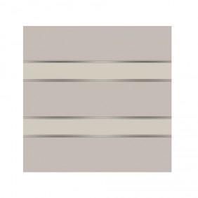 elevato Zaunserie Baveno Typ 2.3 Lichtgrau/Weiß
