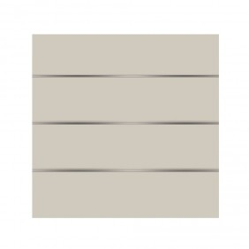 elevato Zaunserie Baveno Typ 1.1 Weiß