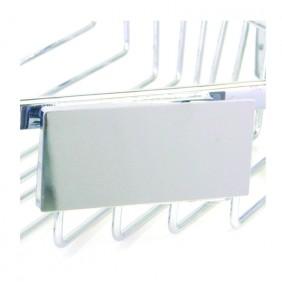Bravat Sichtblende für Klebepunkte für Duschkörbe