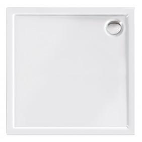 Acryl-Brausewanne Teso 100 x 100 x 25 cm weiß