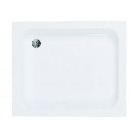 AquaSu Acryl-Brausewanne Garba 90 x 75 x 15 cm weiß