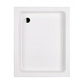 Acryl-Brausewanne Garba 100 x 80 x 15 cm weiß