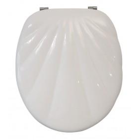 Sanitop Sitzplatz WC-Sitz Muschel Ancona II, weiß