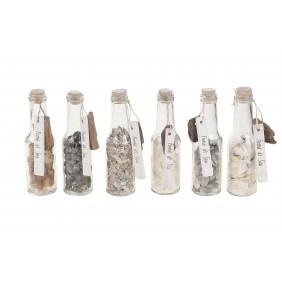 DIJK Glasflasche mit Muscheln