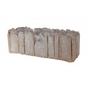 DIJK Pflanztopf aus Holz, 39 x 14 x 14 cm