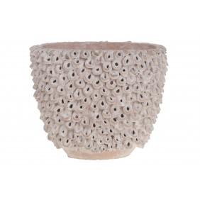 DIJK Pflanztopf aus Keramik, 21,5 x 12 x 18 cm