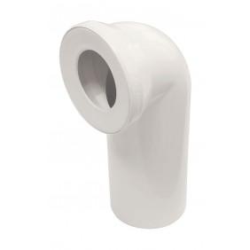 Sanitop Anschlussbogen für Stand-WC 90°, pergamon