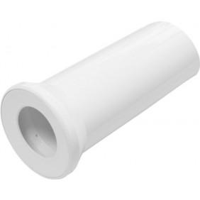 Sanitop Anschlussrohr für Stand-WC 250 mm weiß