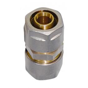 Sanitop Wiroflex WIROFLEX Kupplung 20 x 20 mm Komplettlösung incl. Adapter, Schraubsystem