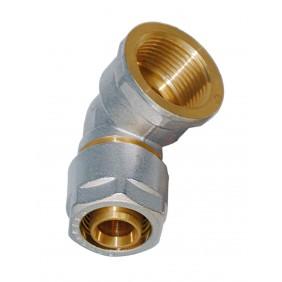Sanitop Wiroflex WIROFLEX Winkel 20 x 3/4 IG Komplettlösung incl. Adapter, Schraubsystem