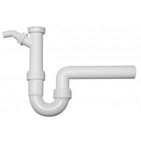 Sanitop Röhrengeruchverschluss für Spülen 11/2 x 50 mm