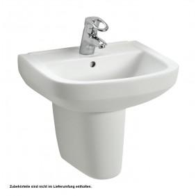 Sanitop Wingenroth Handwaschbecken Lucanto 50 cm, weiß