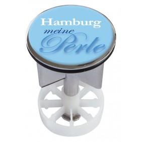 Sanitop Excenterstopfen Metall 38 - 40 mm Design Meine Perle