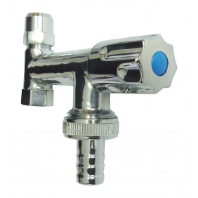 Sanitop Geräte-Ventil Eckfix, lange Ausführung