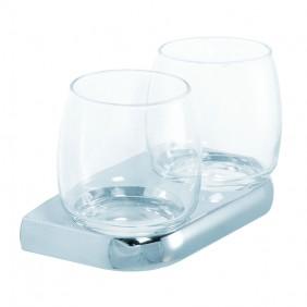 Bravat doppelter Glashalter Metasoft