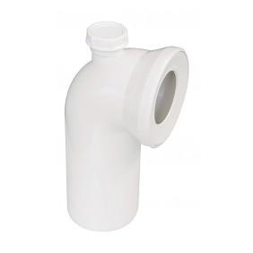Sanitop WC-Anschlussbogen 90°, manhattan
