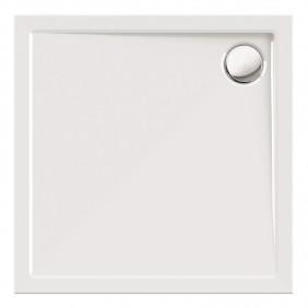 Acryl-Brausewanne Teso 90 x 90 x 25 cm weiß