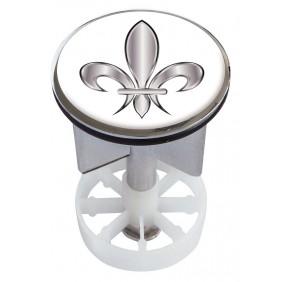 Sanitop Excenterstopfen Metall 38 - 40 mm Design Ornament