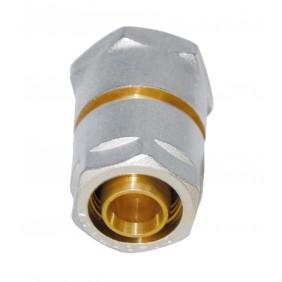 Sanitop Wiroflex WIROFLEX Klemmring-Verschraubung 16 x 3/4 IG Komplettlösung incl. Adapter, Schraubsystem