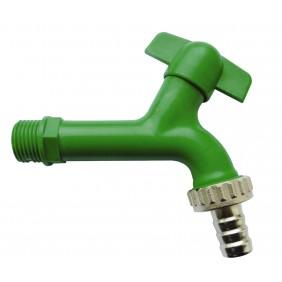 Sanitop Auslaufventil 1/2 Kunststoff, grün
