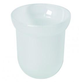 Bravat Tropfschale für Toilettenbürstengarnitur Metasoft - Glas