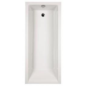 Acryl-Badewanne Nilo 170 x 75 cm weiß